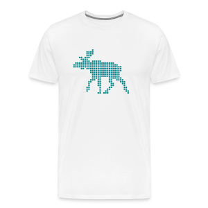 Pixel moose - Men's Premium T-Shirt