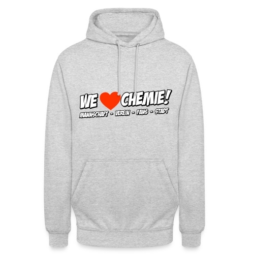 Hoodi - We love Chemie! - Unisex Hoodie