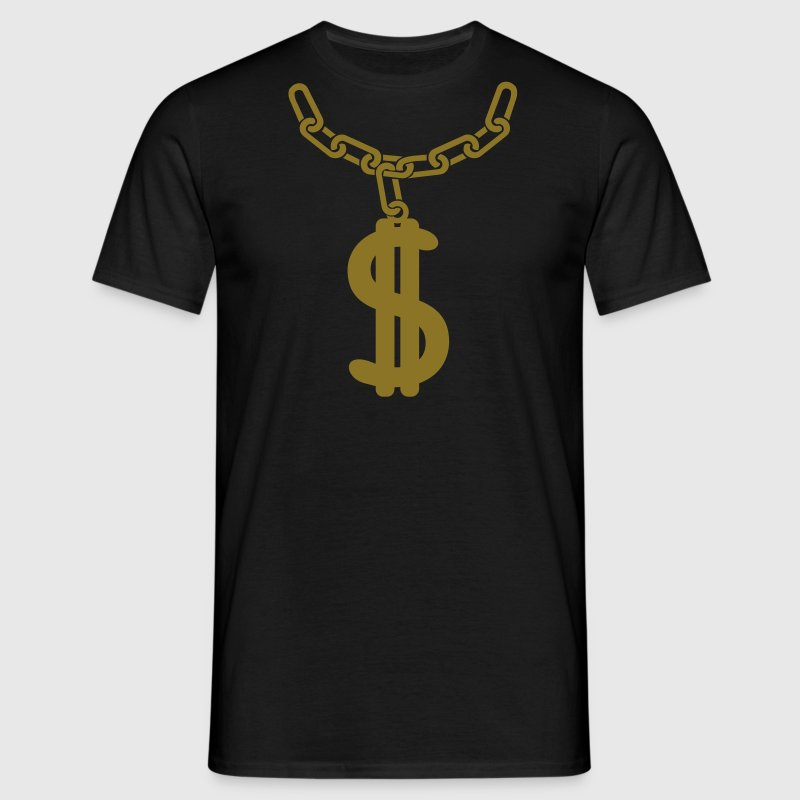 Dollarkette Shirt - Männer T-Shirt