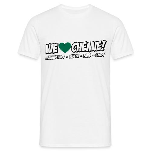 Shirt - Herz grün SPECIAL - Männer T-Shirt