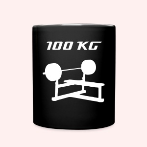 100 kG Bench Press - Tasse einfarbig