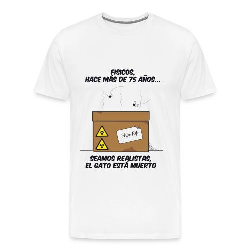 El gato está... muerto - Camiseta premium hombre