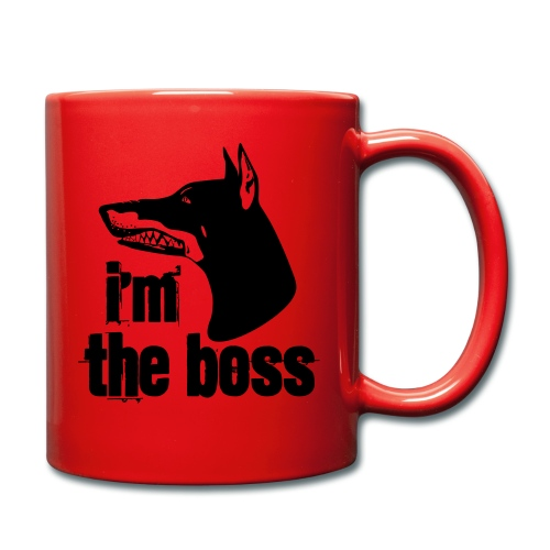I´m the boss - Tasse einfarbig