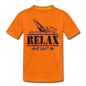 Surfer T-Shirt, Teenie Shirt - Teenager Premium T-Shirt
