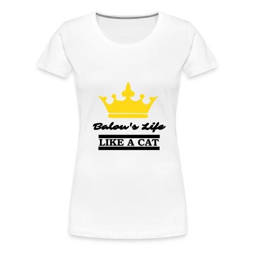 Balou the King - Women's Premium T-Shirt