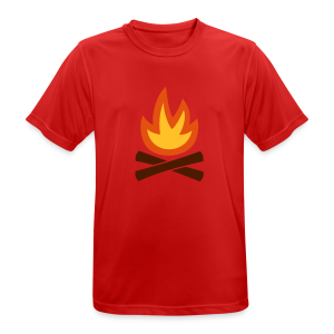 Campfire - Men's Breathable T-Shirt