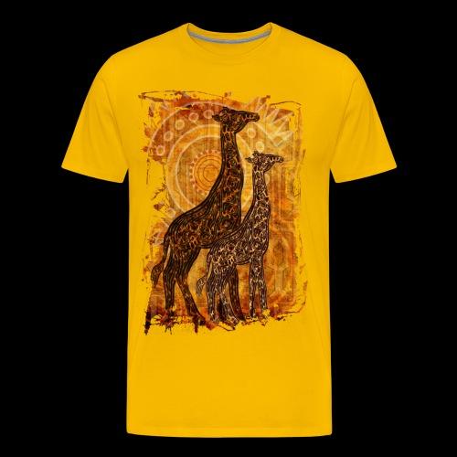 African summer t-shirt - Men's Premium T-Shirt