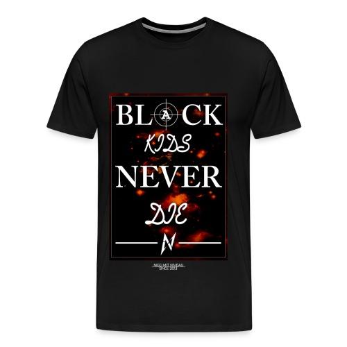 T-Shirt Black Kids  - Männer Premium T-Shirt