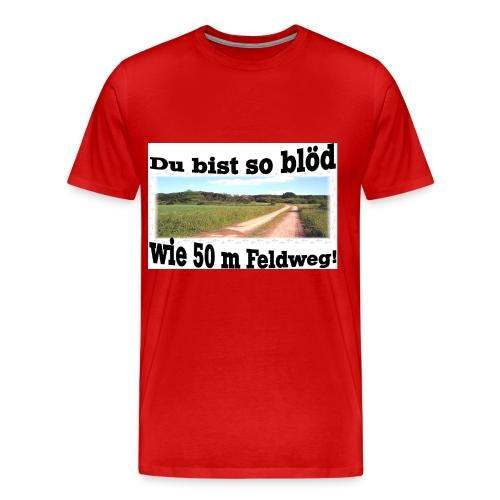 Feldweg 2 - Männer Premium T-Shirt