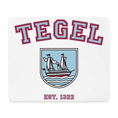 Mousepad Tegel - est. 1322 - Mousepad (Querformat)