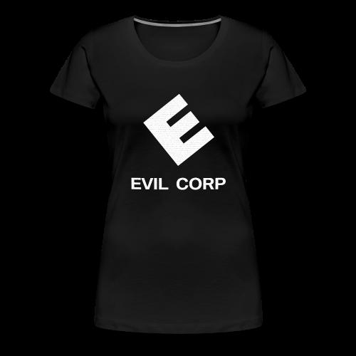 EVIL CORP - Frauen Premium T-Shirt