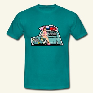 Pin up dyane - T-shirt Homme