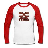 Langarmshirts ~ Männer Baseballshirt langarm ~ Warhammer Age of Sigmar Khorne 1 - Long Sleeve Baseball Shirt