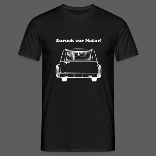 Zurück zur Natur - Männer T-Shirt