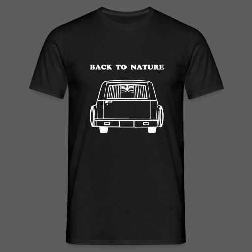 Back To Nature - Männer T-Shirt