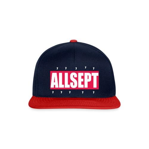 ALLSEPT SNAPBACK Rouge-Bleu - Snapback Cap