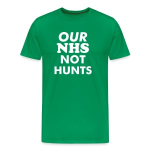 Save Our NHS  - Men's Premium T-Shirt