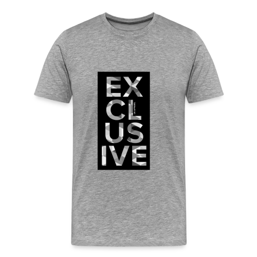 Exclusive Font T-Shirt - Men's Premium T-Shirt
