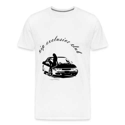 V.I.P Exclusive Club T-Shirt - Men's Premium T-Shirt