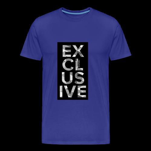 Exclusive Font T-Shirt - Men's Premium T-Shirt
