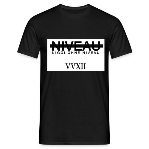 Niveauloses T-Shirt - Männer T-Shirt