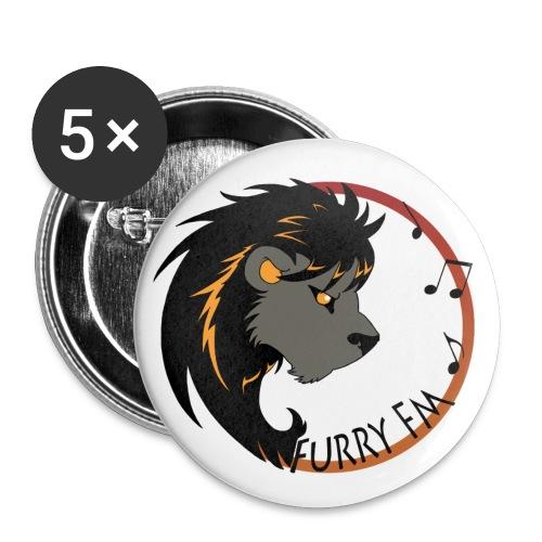 Furry FM Buttons - Buttons klein 25 mm