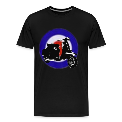MOD (Black) - Men's Premium T-Shirt