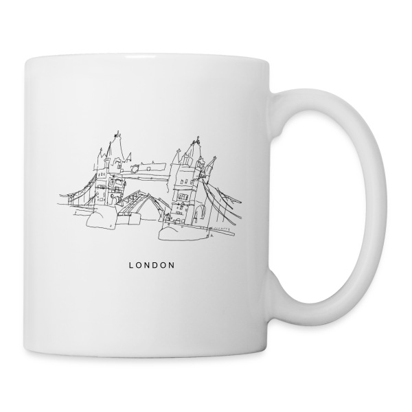 Tasse London tower bridge