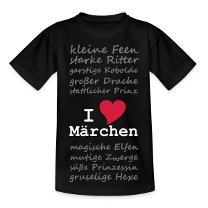 Kinder-Shirt Märchenliebe - Kinder T-Shirt