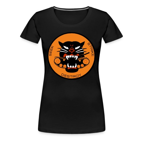 Black History: Black Panther Tank Destroyer WWII - Women's Premium T-Shirt