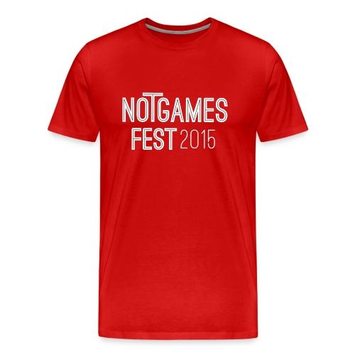 NGF2015 men´s ruby - Männer Premium T-Shirt