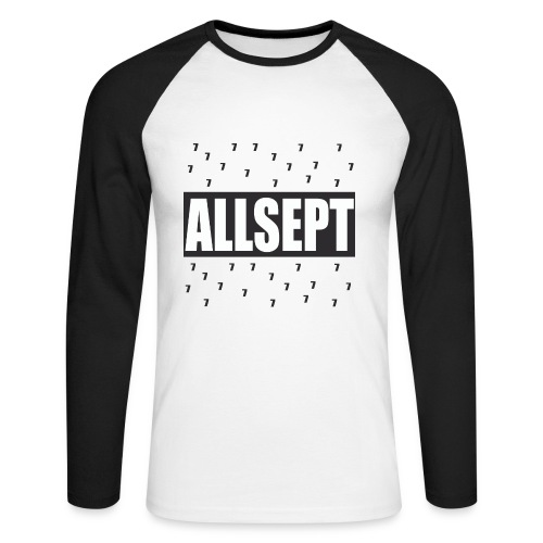 ALLSEPT LIMITED - T-shirt baseball manches longues Homme