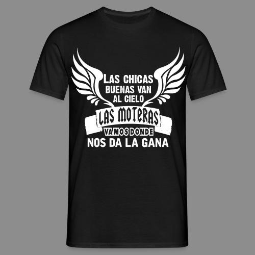 Las chicas buenas van al cielo - Camiseta hombre
