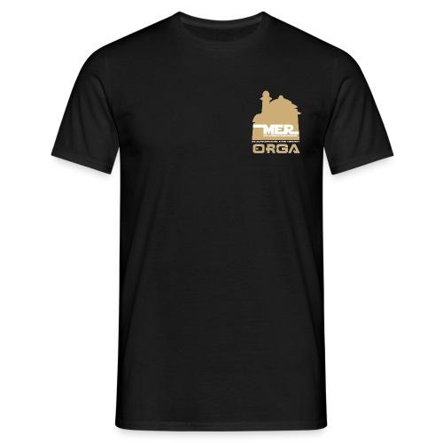 Turnier-ORGA Front- & Rückendruck - Männer T-Shirt