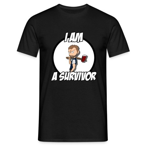 I am a Survivor - T-shirt Homme