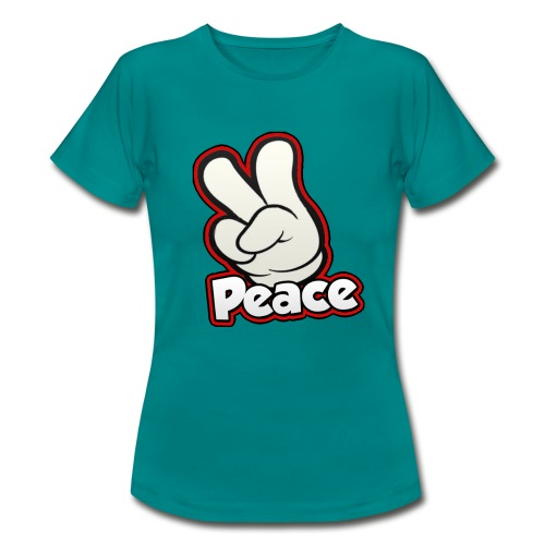 Rotjoch Peace T-Shirt Girls - Vrouwen T-shirt