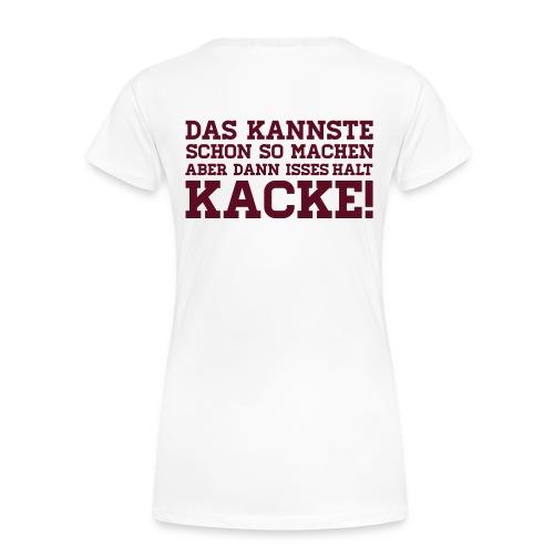 Das kannste machen T-Shirt - Frauen Premium T-Shirt
