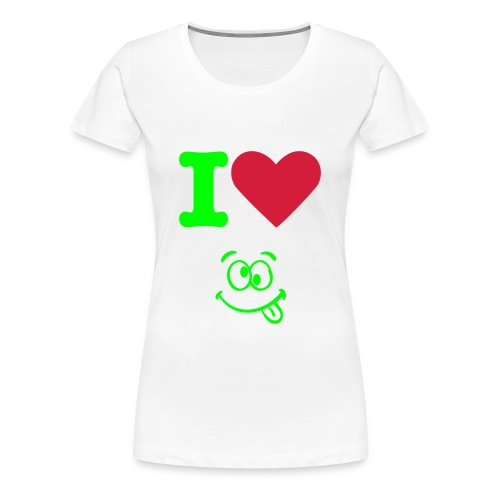 i love - Frauen Premium T-Shirt