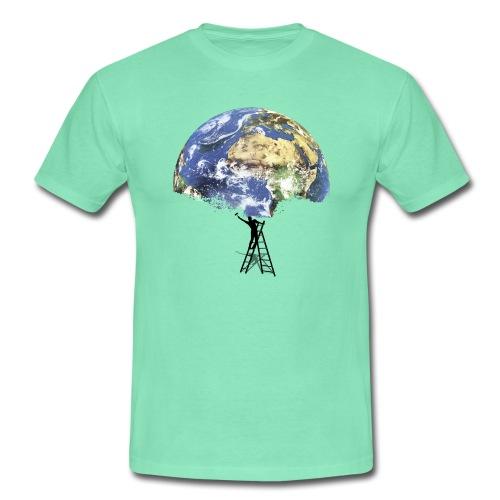 Discover The World - Männer T-Shirt - Männer T-Shirt