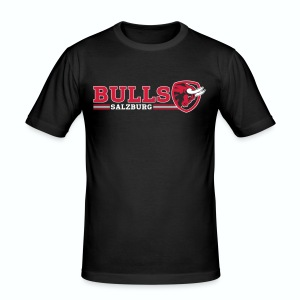 Salzburg Bulls Slim Fit T-Shirt - Männer Slim Fit T-Shirt