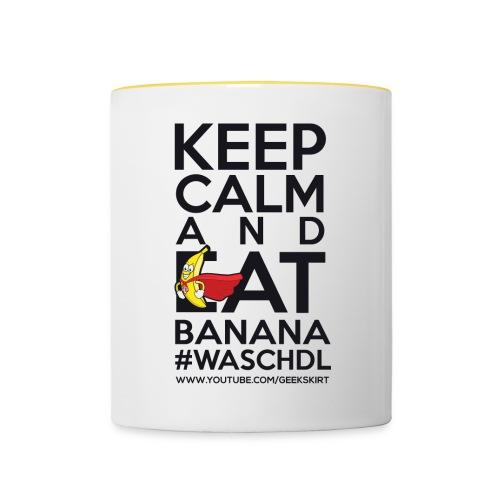 Team Banana - Tasse - Tasse zweifarbig
