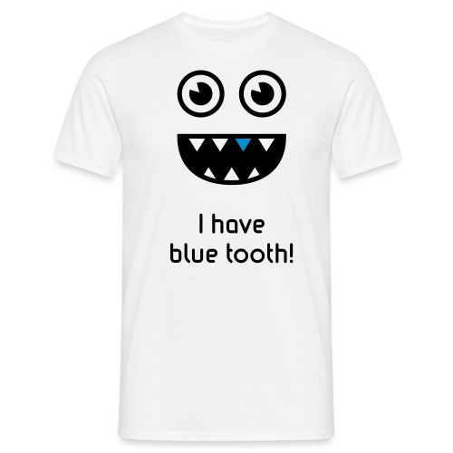 Bluetooth shirt - Mannen T-shirt