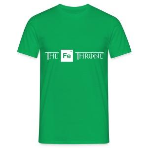The Iron Throne (White) - Men's T-Shirt