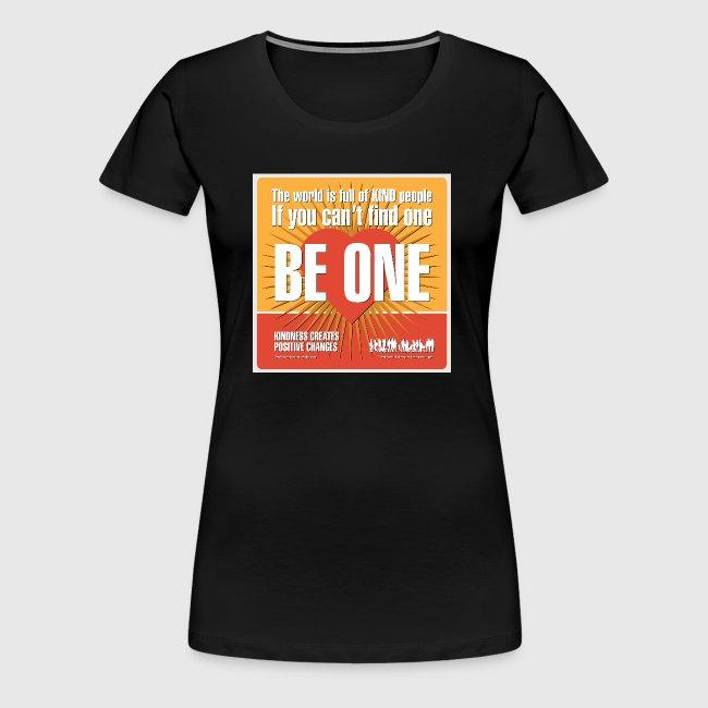 Women  - tshirt - Be One