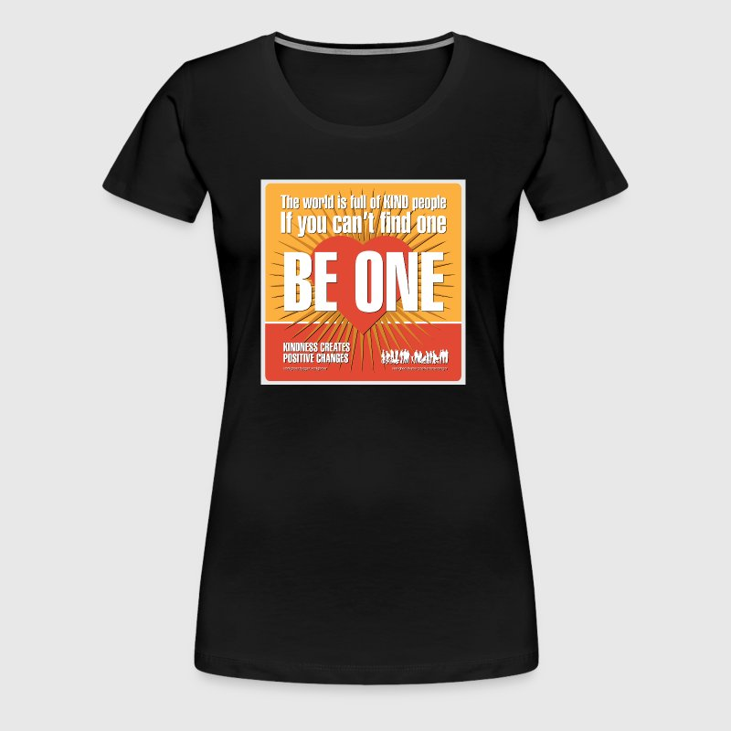Women  - tshirt - Be One - Dame premium T-shirt