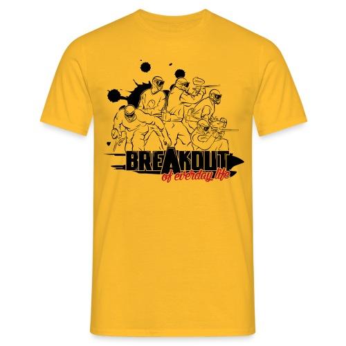 Breakout T-Shirt gelb - Männer T-Shirt