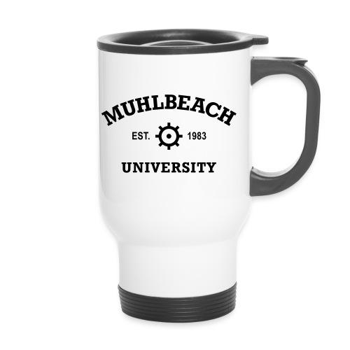 Mug thermos - Muhlbeach Thermos - White/Black