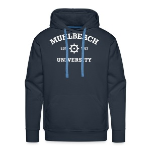Sweat-shirt à capuche Premium pour hommes - Muhlbeach University Hoodie - Dark Blue
