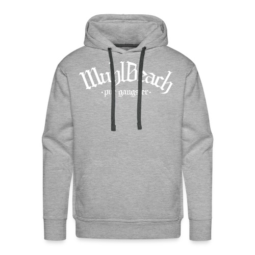 Sweat-shirt à capuche Premium pour hommes - Muhlbeach Original Hoodie - Grey