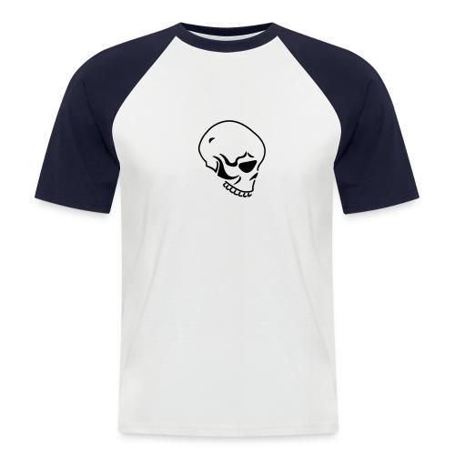 Skull - Männer Baseball-T-Shirt
